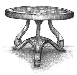 Concept Table Sketch